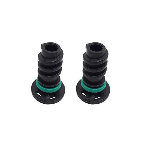 2 Pcs Engine Oil Drain Plug Plastic Sump Plug 0029902017 for Mercedes-Benz C63 S450 S560 ()