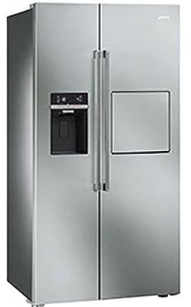 Smeg SBS63 X EDH nevera puerta lado nevera y congelador: Amazon.es ...