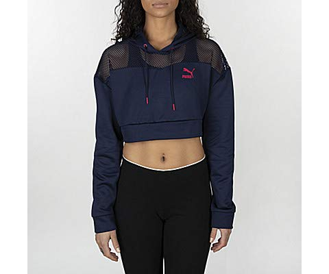PUMA Women's Flourish Touch of Life Cropped Hoodie