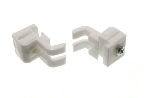 CURTAIN RAIL TRACK GLIDER STOP END TO FIT SWISH SOLOGLIDE SOLOGLYDE ( pk 2 ) onestopdiy.com