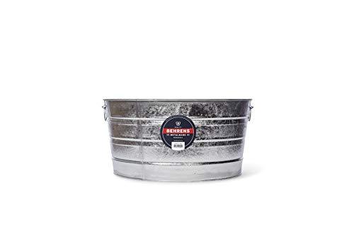 Behrens 2, 15-Gallon Round Steel Tub -