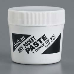 Sultan 10404 Dry Socket Paste, 28 g Jar