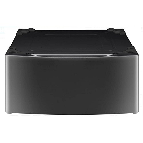 - LG Laundry Pedestal with Drawer in Black
