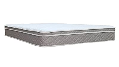 "Spinal Solution 440B-4/6-2 10-Inch Assembled Orthopedic Mattress and 8"" Box Spring/Foundation Set, Full, Size"