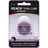 Reach Total Care Floss with Listerine, Fresh Mint(Pink), 30 yards, Health Care Stuffs