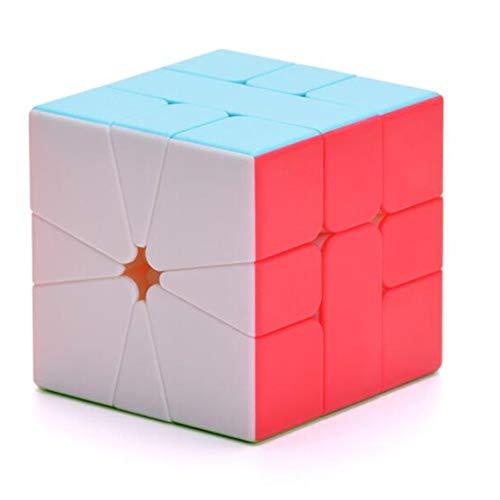 CuberSpeed QiYi Square-1 Stickerless Magic Cube Qiyi QiFa S SQ-1 Speed Cube Puzzle