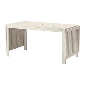 Ikea APPLARO FWT02-N – Mesa Madera Plegable Blanco Asientos 4 – 8