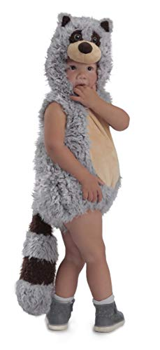 Princess Paradise Baby Boys' Ryder Raccoon Deluxe Costume, Gray/Brown/Beige, 12 to 18 Months