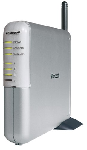 Microsoft Broadband Networking Wireless  Base Station Router MN-500