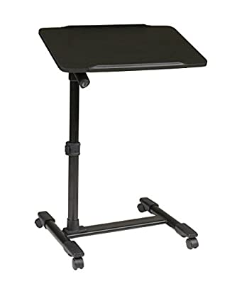 Mobile Laptop Cart with Adjustable Top