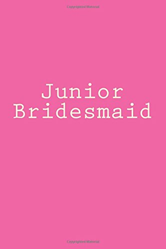 Junior Bridesmaid: Writing Journal