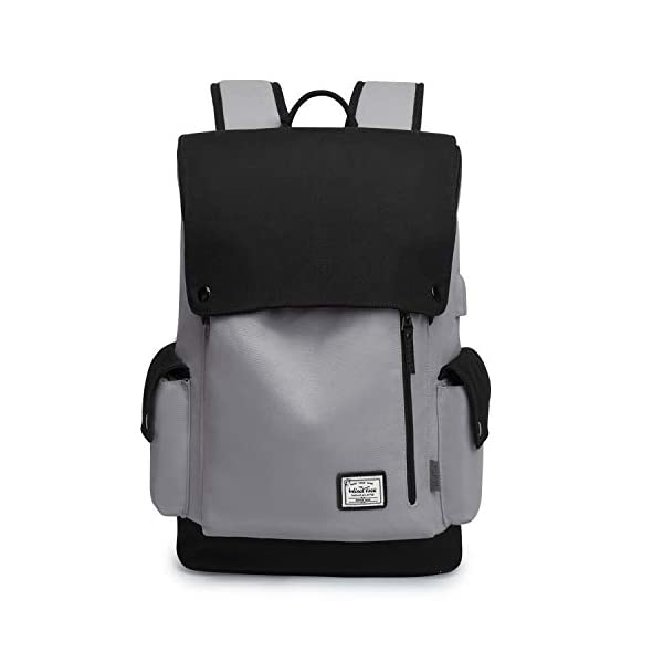 Wind Took Zaino Porta PC 15.6 Pollici Zaino Canvas Zaino da Donna e Uomo Casual Backpack Laptop Zaino Unisex Adulto per… 2 spesavip