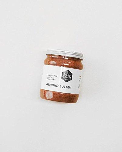 BODY GENIUS Almond Butter. Contiene SOLO y nada más que Almendras. Made in Spain. 1000 gr: Amazon.es: Alimentación y bebidas