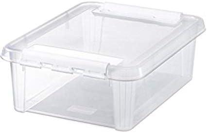 weiß SmartStore Aufbewahrungsbox CLASSIC 24 21 Liter transparent