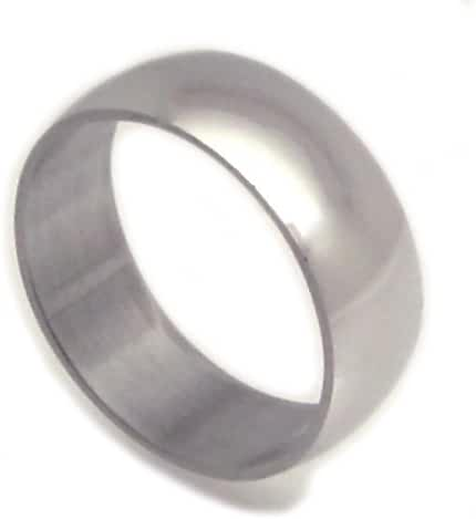 Stainless Steel Ultra Slim Band Ring 7 Millimeters Wide (10.75)