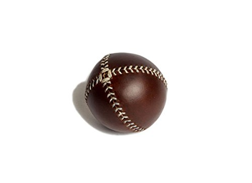 Peel Lemon Baseball (Lemon Ball Baseball. Brown Horween Chromexcel Leather, White Stitch Lb-Cxl-Wh)