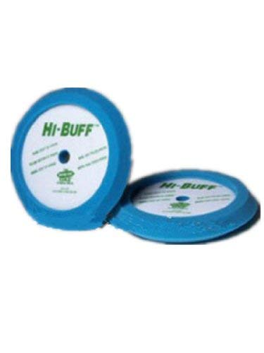 Hi-Tech Industries Hi-Buff Blue Soft Polish Edge Foam Buffing Pad (HIT-HB400)