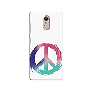 Cover It Up - Pastel Peace Gionee S6s Hard Case
