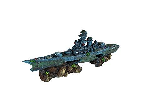 Penn Plax Battleship Aquarium