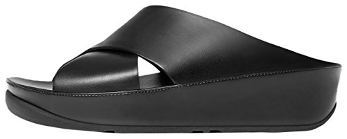 Slide Kys Leather Black All Kys Slide S6CEqw06