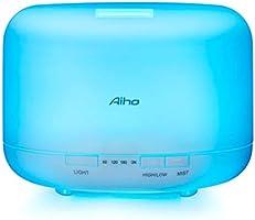 Aiho Diffusore di Aromi 500ml Ultrasonic Umidificatore per Ambienti