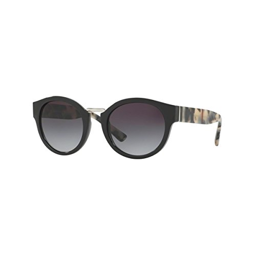 Burberry BE4227 Sunglasses-36098G Black (Gray Gradient - Burberry Sun Glasses