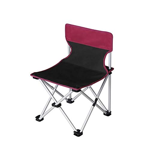 YXNZ Camping Chair, Portable Folding Chair for Hiking, Camping, Hunting, Watching Soccer Games, Fishing, Picnic, BBQ 42×42×63cm (Color : A)