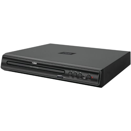 NAXA Electronics ND-856 High Resolution 2-Channel Progressive Scan DVD Player with USB Input by Naxa Electronics