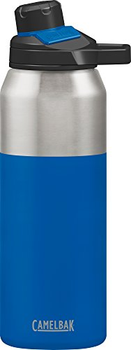 CamelBak Chute Mag Stainless Water Bottle, 32oz, Cobalt (Camelbak Bottle Insulated)