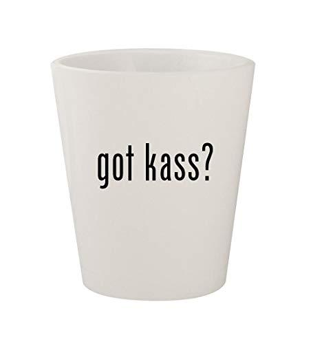 got kass? - Ceramic White 1.5oz Shot Glass ()