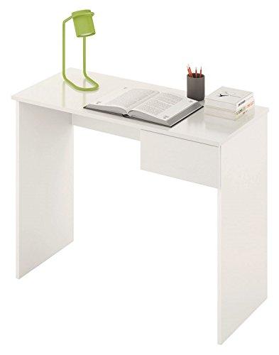 LIQUIDATODO ® - Mesa de estudio moderna y barata con cajón en ...