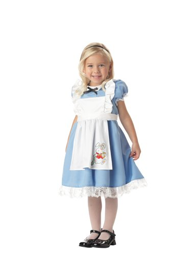Lil Alice In Wonderland Toddler's (Alice And Wonderland Halloween Costumes)