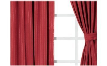 Limited Edition The 'Rosso Bruno' Collection - Complete Double Sided Comforter and Sheet Set with Curtains (King)