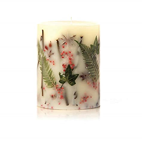 (Rosy Rings Red Currant & Cranberry Round Scented Candles, 6.5