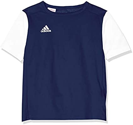 adidas Estro 19 JSY Camiseta de Manga Corta, Niños, Dark Blue ...