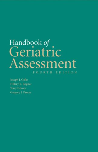 Handbook Of Geriatric Assessment