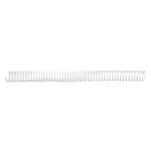 TruBind 20mm (3/4-Inch) Standard White Coil Bindings, Pack of 50 (COIL20-WH) (3/4 Inch Coil)