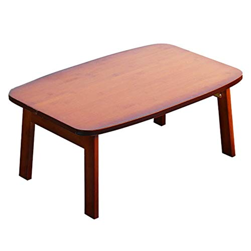 AMY Solid Wood Student Dormitory Reading Table Laptop Folding Table Ergonomic Laptop Table Bedside Reading Table Computer Stand Writing Desk (Size : 80×50×34CM) ()