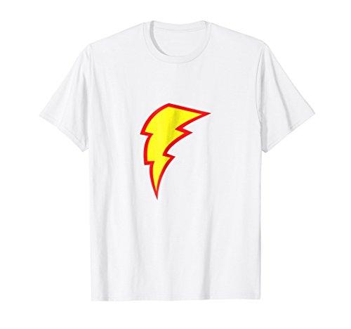 Lightning Bolt T-Shirt Lightning Strike Flash Bright (Strike Flash)