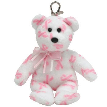 TY Beanie Baby - GIVING the Pink Bear