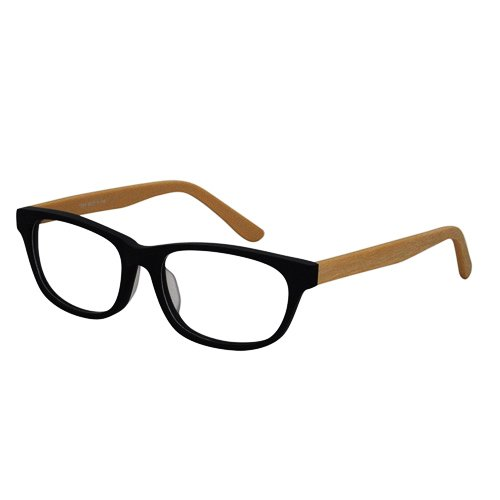 EyeBuyExpress Retro Style Wooder/Black/Coffee Reading Glasses Magnification - Custom Made Glasses Prescription