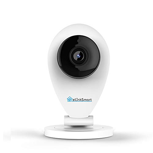eLinkSmart 720P HD WiFi Camera Mini Indoor IP Camera for Home Security, Night Vision, Video Recording, Motion and Crying Detection For Sale