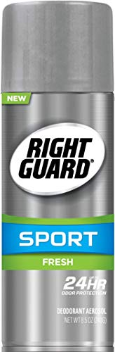 Right Guard Sport Aerosol Deodorant, Fresh, 8.5 Ounces (Pack of 12)