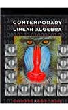 Contemporary Linear Algebra, Anton, Howard and Busby, Robert C., 0471450014
