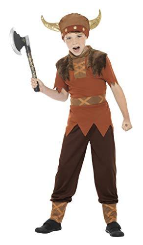 Smiffys - Disfraz de vikingo para niño, talla M (38665M ...