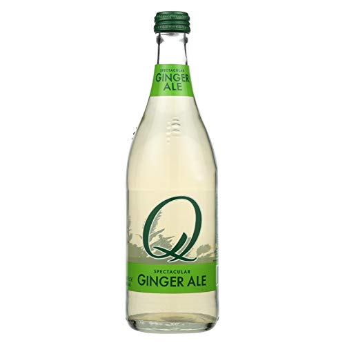 Q DRINKS, Ginger Ale, Pack of 6, Size 16.9 FZ, (GMO Free Vegan)