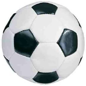 Takestop® Balón pelota de fútbol vintage, fútbol clásico: Amazon ...