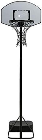 ファストユースリフティングバスケットボールフープ、屋内と屋外のポータブルバスケットボールボックス、成人バスケットボールボード、ワンアームバスケットボールのフープを移動し、ダンクすることができ、便利で (Color : Gray, Size : 1.6m-2.1m)