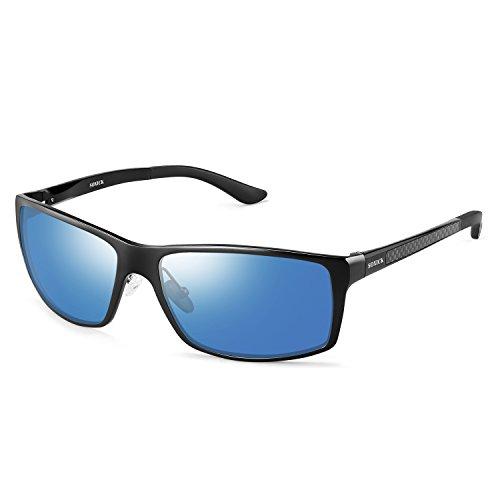 Polarized Men's Sunglasses UV400 Metal Fashion Driving ()