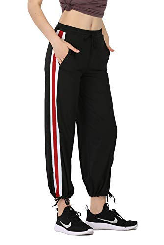 CNRCUOCKI Drawstring Mid Rise Lightweight Sweatpants